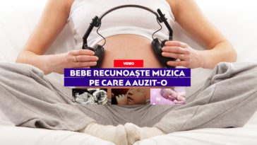 bebe recunoaste muzica din burtica