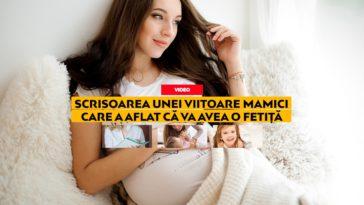 Scrisoarea unei viitoare mămici care a aflat că va avea o fetiță