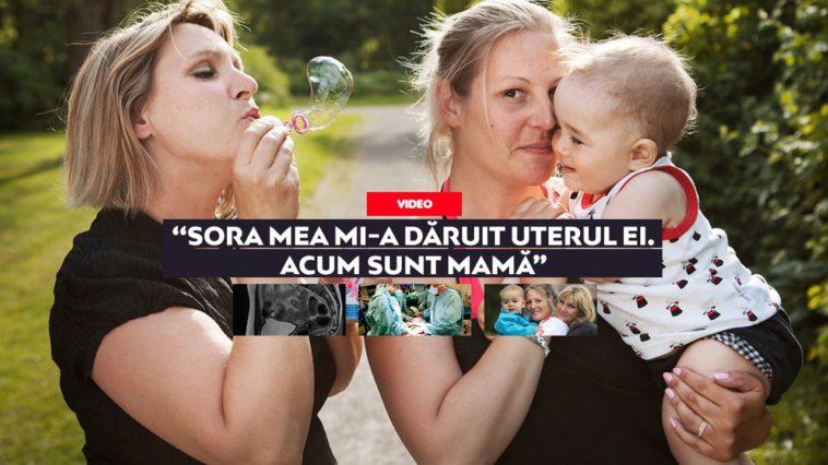 Primul transplant de uter dintre surori