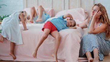 tehnică de adormit copiii