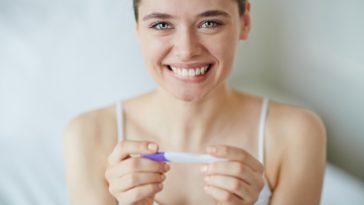test sarcina pozitiv
