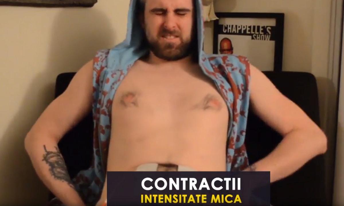 contractii durerile nașterii